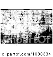 Clipart Black And White Wooden Grunge Overlay Royalty Free Vector Illustration by BestVector