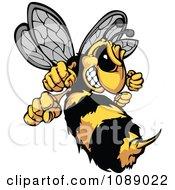 Stinging Hornet Mascot