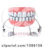 3d Dentures Character