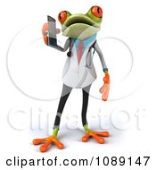 3d Doctor Springer Frog Using A Cell Phone 1