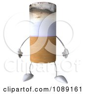 3d Tobacco Cigarette Character