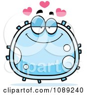 Clipart Infatuated White Blood Cell Royalty Free Vector Illustration by Cory Thoman