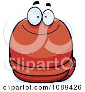 Chubby Smiling Orange Worm