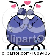 Clipart Chubby Infatuated Tick Royalty Free Vector Illustration by Cory Thoman