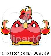 Chubby Angry Phoenix Fire Bird