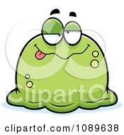 Pudgy Drunk Green Blob