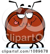 Clipart Pudgy Goofy Or Drunk Ant Royalty Free Vector Illustration