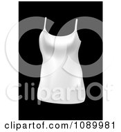 Clipart White Womans Tank Top Royalty Free Vector Illustration