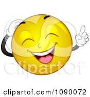 Clipart Smiley Emoticon Laughing Royalty Free Vector Illustration