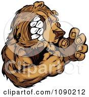 Fighting Bear Mascot