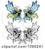 Ornate Fairy Wings