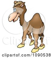 Clipart Camel Facing Away Royalty Free Vector Illustration by dero
