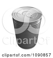 Clipart 3d Food Can With A Pop Top Royalty Free CGI Illustration