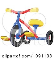Clipart Colorful Tricycle Royalty Free Vector Illustration by yayayoyo