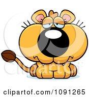 Cute Sad Lioness