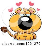 Cute Loving Lioness