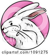 Clipart Year Of The Rabbit Chinese Zodiac Circle Royalty Free Vector Illustration by BNP Design Studio