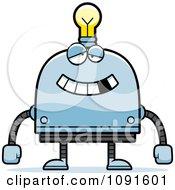 Dumb Light Bulb Head Robot