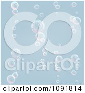 Clipart Pastel Bubble Background Royalty Free Vector Illustration by AtStockIllustration