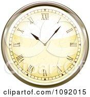 3d Roman Numeral Wall Clock