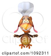 3d Chef Chicken Flying 1