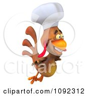 3d Chef Chicken Flying 2