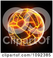 Clipart Earth Cracking And Exploding On Black Royalty Free CGI Illustration