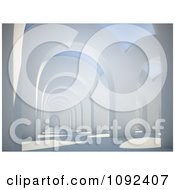 Clipart 3d Architectural Arches Royalty Free CGI Illustration