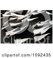 Clipart 3d Flying Paper Airplanes Royalty Free CGI Illustration by Mopic