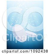 Clipart 3d Fizzy Tablets Sinking In Water Royalty Free CGI Illustration by Mopic