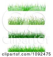 Clipart Grassy Borders Royalty Free Vector Illustration