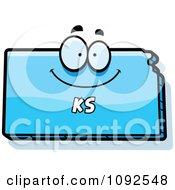 Mad Blue Kansas State Character by Cory Thoman