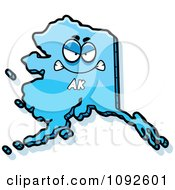 Mad Blue Alaska State Character by Cory Thoman