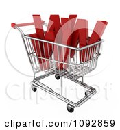 Clipart 3d Www E Commerce Shopping Cart Royalty Free CGI Illustration