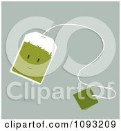 Green Tea Bag Character