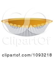 Clipart Pumpkin Pie 1 Royalty Free Vector Illustration