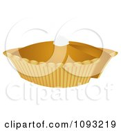Clipart Pumpkin Pie 2 Royalty Free Vector Illustration by Randomway