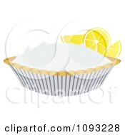 Clipart Lemon Meringue Pie 2 Royalty Free Vector Illustration by Randomway