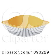 Clipart Baked Pie In A Pan Royalty Free Vector Illustration