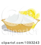 Clipart Lemon Meringue Pie 1 Royalty Free Vector Illustration by Randomway
