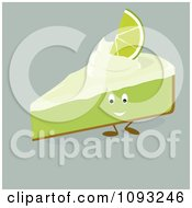 Slice Of Key Lime Pie Character