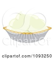 Clipart Cream Pie Royalty Free Vector Illustration by Randomway