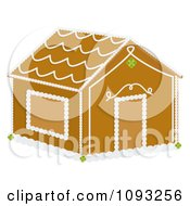 Clipart Gingerbread House Royalty Free Vector Illustration