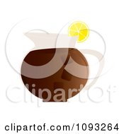 Clipart Pitcher Of Iced Tea Royalty Free Vector Illustration