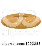 Clipart Maple Donut Royalty Free Vector Illustration by Randomway