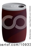 Clipart Can Of Soda Royalty Free Vector Illustration by Randomway