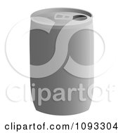 Clipart Plain Soda Can Royalty Free Vector Illustration by Randomway
