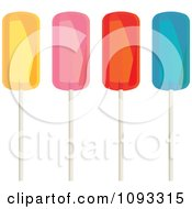 Clipart Colorful Lolipops Royalty Free Vector Illustration