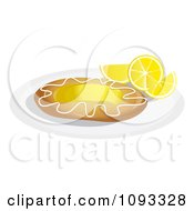 Clipart Lemon Danish 3 Royalty Free Vector Illustration by Randomway