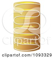 Clipart Lemon Danish Pocket Royalty Free Vector Illustration by Randomway
